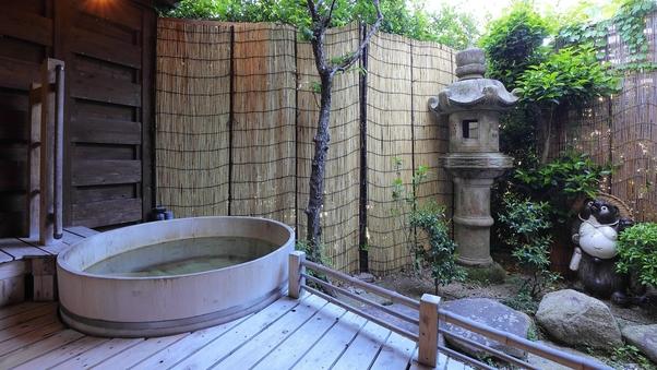【朝夕部屋食】特別室棟芙蓉山荘◆『銀泉』檜露天風呂付特別室
