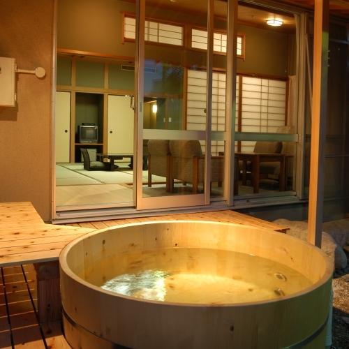 芙蓉山荘露天風呂付特別室