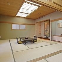 芙蓉山荘特別室は純和風の広々和室