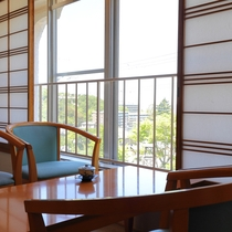 本館3F客室からの眺望