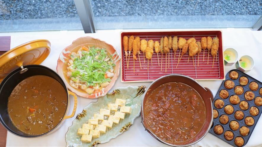 ●朝食バイキング会場● 関西郷土料理もご準備しております。
