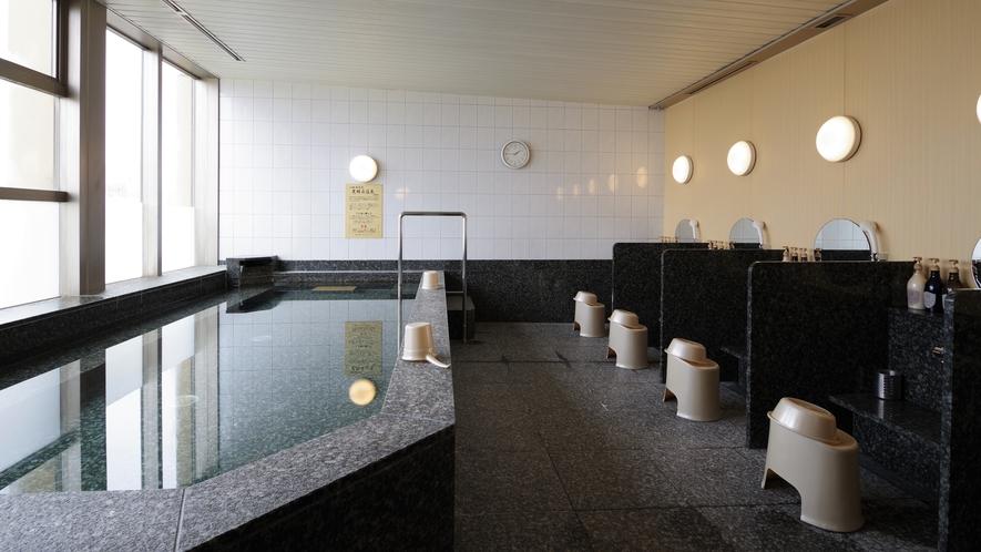 ●男性浴場● 最上階12階