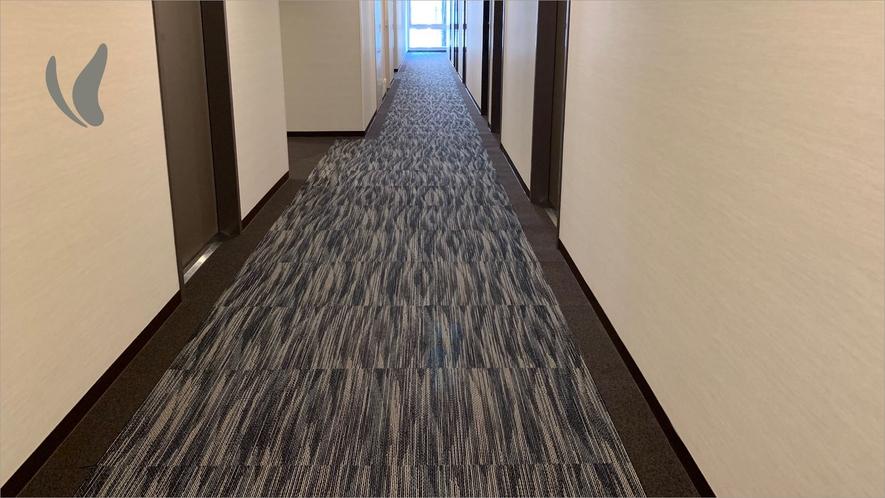 ●各階廊下● 水の都をイメージしております。