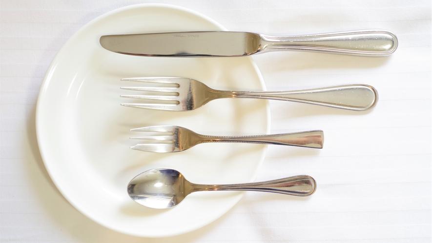 ●貸出備品● お皿、カトラリー