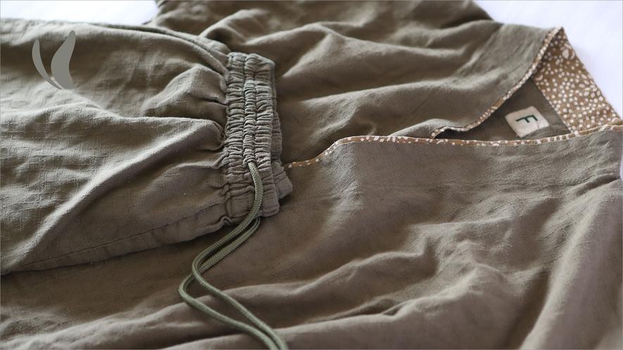●客室備品● 作務衣(ルームウェア)