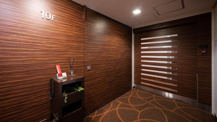 レディースフロア エレベーターホール