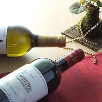 ワインと苔のコラボレーション!!苔はレストランのコンセプト(*^_^*)