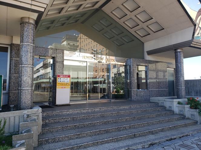 ホテル入口1