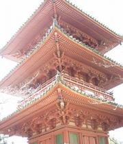 太山寺の三重塔