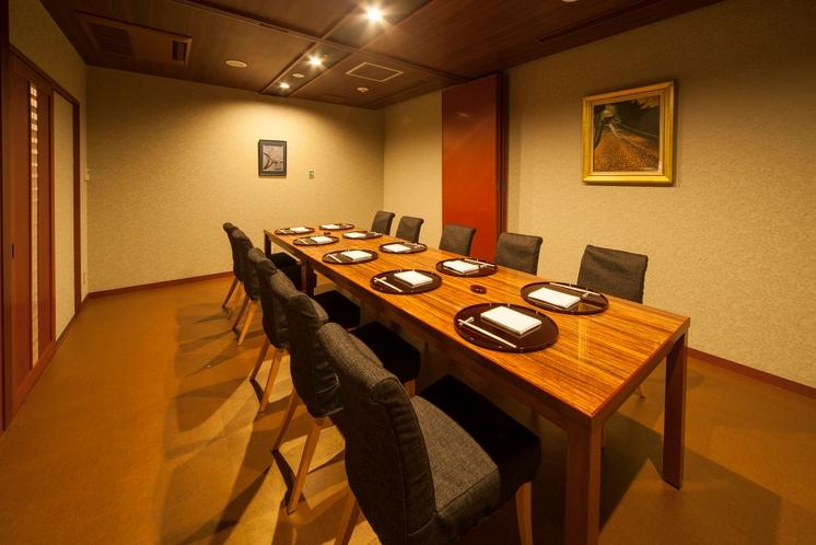 17F日本料理「桃山」 テーブル個室