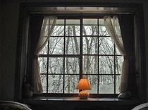 部屋211の冬景色