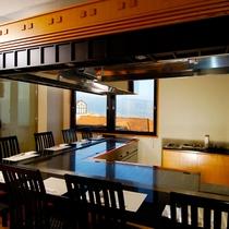 鉄板焼レストラン「けやき」