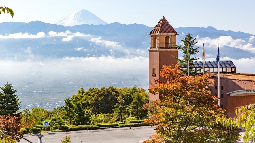 景観と富士山