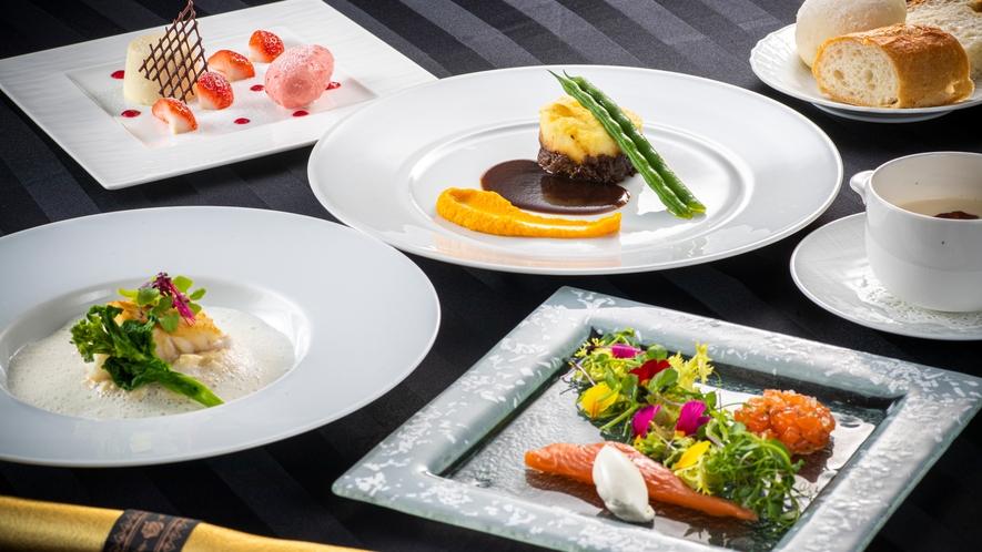 洋食ディナーコース 一例 冬