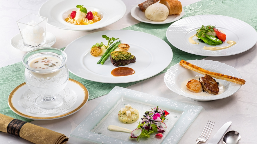 洋食ディナーコース 一例 夏
