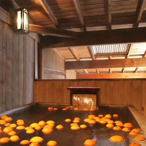 【みかん風呂】これぞ静岡!みかんの香りが漂っております♪