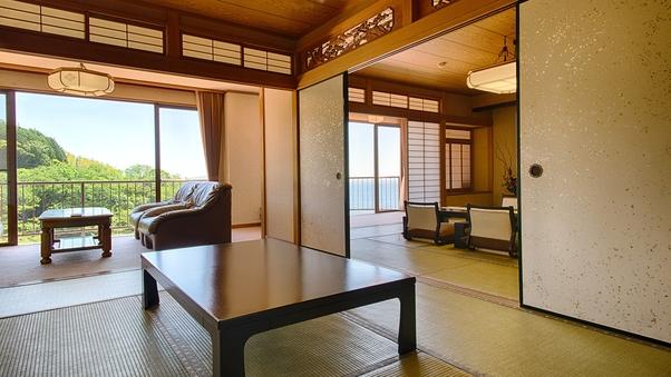 特別室(和室二間/12.5畳+7.5畳) ※禁煙室