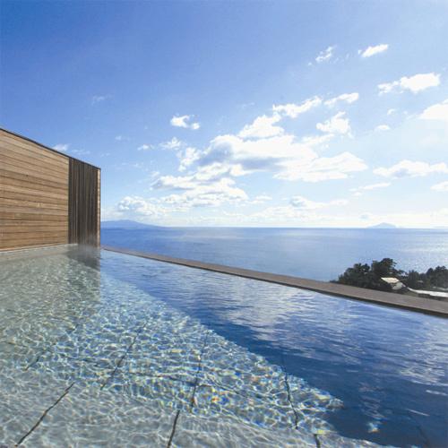 ■ 海を一望!屋上露天風呂 「熱川の海を眺めながら癒しのひとときを」