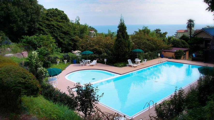 【ホテル専用プール】宿泊の方は無料です(夏期のみ)