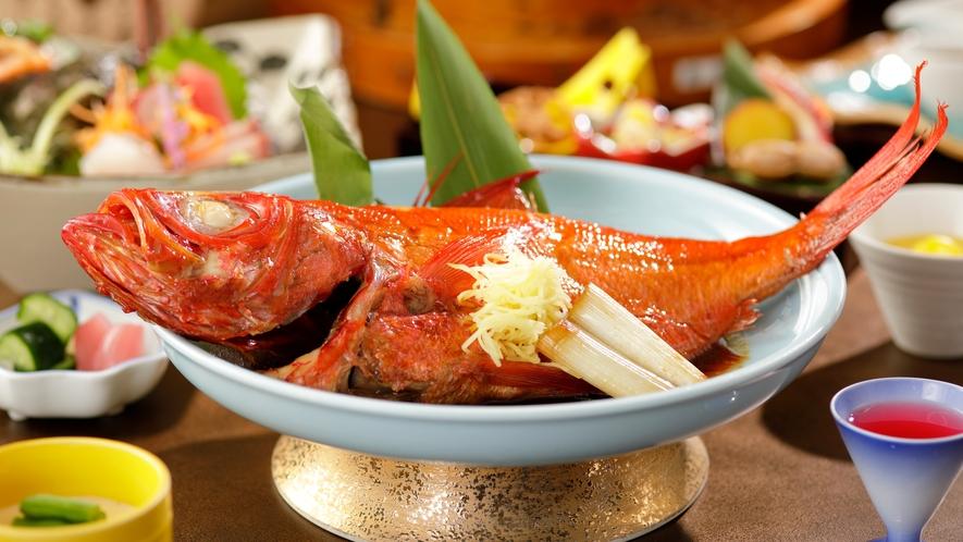 カジュアルコース「四季の彩り」金目鯛姿煮