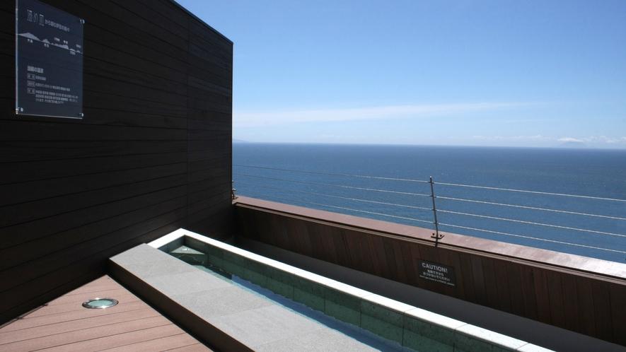 スカイテラス「湯め凪」からは海を一望
