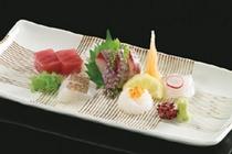 季節の鮮魚お造り五種盛り