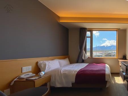 【本館/禁煙】3階富士山側セミダブルBタイプ