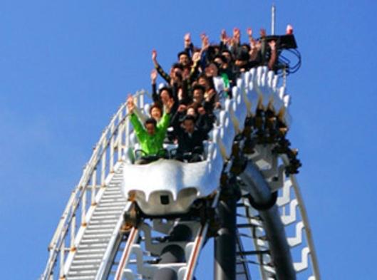 ☆禁煙☆富士山側!富士急ハイランドパック 晴れた日は最高の富士山が!