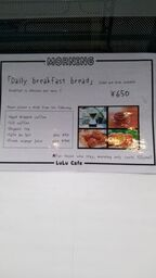 LuLu Cafe  Morning Menu