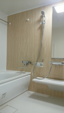 New!和モダン空間☆和室30㎡「SAKURA」 大きなお風呂と50インチTV