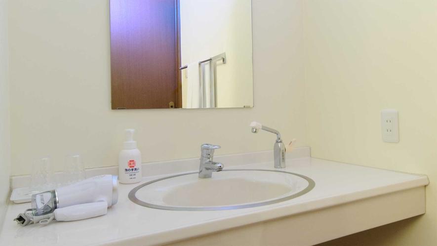 【アネックス(リゾートハウス)】洗面所