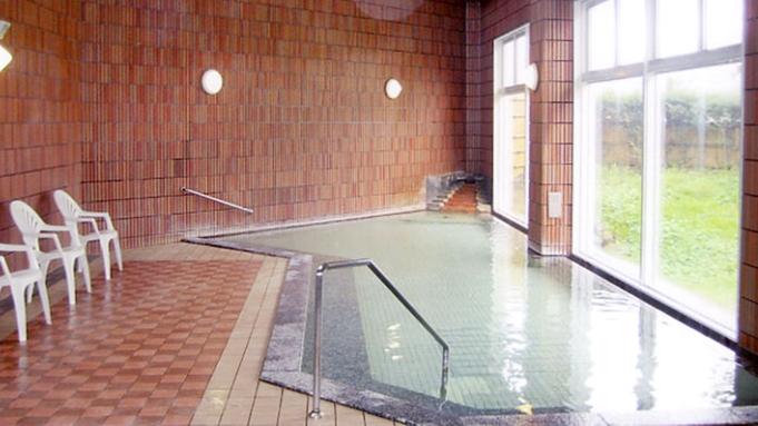 夕食お部屋出し&広〜い天然温泉を満喫2食付きプラン