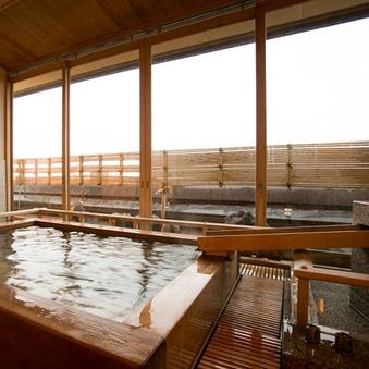 【展望露天風呂付き客室】伯耆富士の絶景を望む高層階スイート
