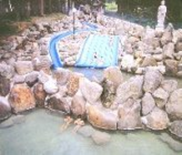 赤倉温泉「滝の湯」夏