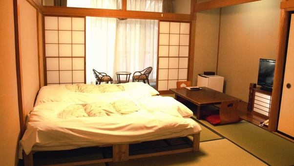 【禁煙】東館・広縁付和室10畳(ツインベッド)