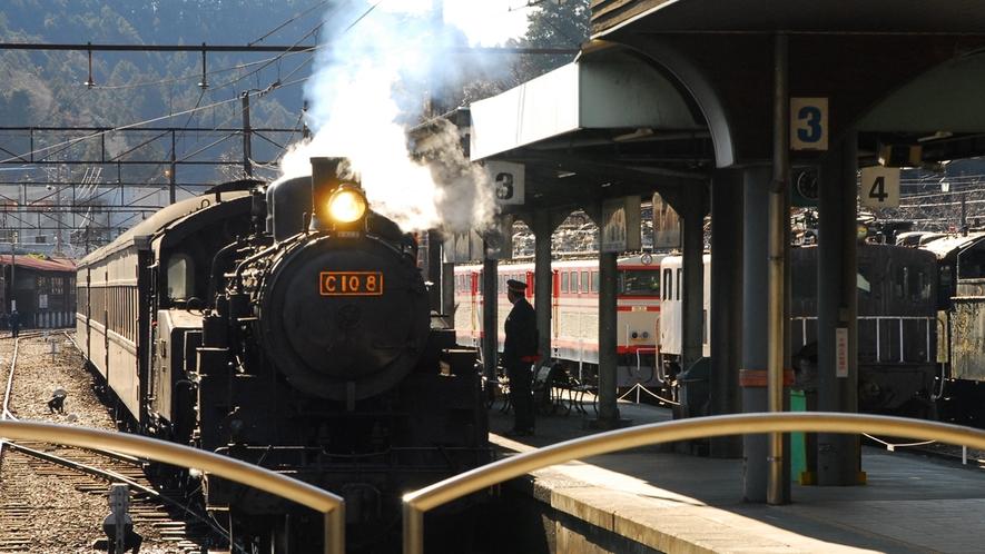 *大井川鉄道/現在も運行しているSL。旅の思い出にぜひ♪