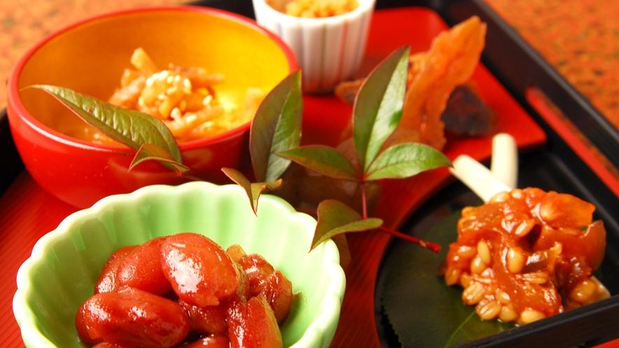 *夕食一例(前菜)