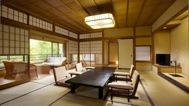 源泉内風呂付「110平米 特別室」