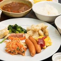 *朝食バイキング/地元沖縄の塩・黒糖・野菜を使った、素朴でやさしい味のお料理です。