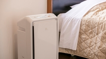 加湿空気清浄機 全部屋設置