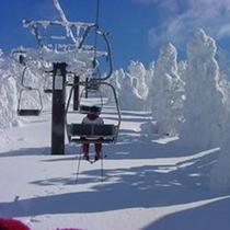 スキーリフト①