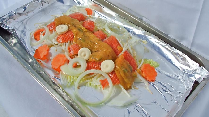 *夕食バイキングお料理一例。