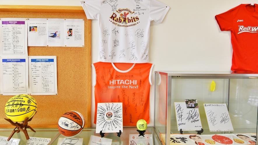 *蔵王たいらぐら 有名プロバスケットチームもトレーニングの為ご利用になっています。
