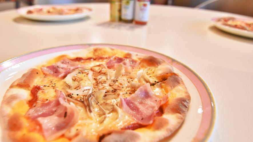 *秋限定 舞茸のピザ