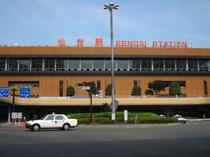 JR仙台駅 ホテルへ徒歩10分
