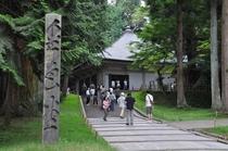世界遺産(中尊寺)