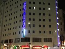 青い輝き♪ホテル外観