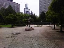 徒歩8分♪勾当台公園♪