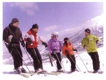 仲間でスキー