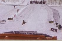 スノーボード ハーフパイプ